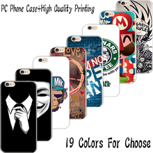 6/6S 4.7'' New Arrival Hard Plastic Back Cover For iPhone 6 6S Cases Case Cell Phone Shell Top Popular Happy Peace Life