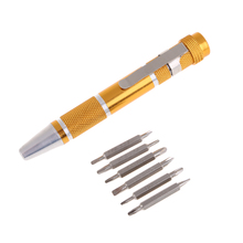 Pen Style Precision Mini Screwdriver Set Trox Hex 9 IN 1 Small Mini Hobby Craft Jewelry Repair Open Tools NG4S