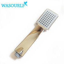 Free shipping oxygenics water saving chrome plated  abs plastic shower head boost pressurize square hand shower bathroom