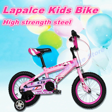 Fast Shipping Wholesale 4 colors laplace 14 16 inch classic children's bicycles girl boy kids bike Get FREE bicycles suit gift(China)