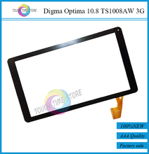Original New Digma Optima 10.8 TS1008AW 3G touch screen digitizer glass touch panel Sensor replacement Free Shipping