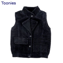 Buy 2018 Autumn Kids Vest Warm Corduroy Girls Boys Clothes Cotton Vests Sleeveless Girl Jacket Solid Color Coats Children Outerwear for $17.42 in AliExpress store