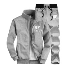 New Autumn Mens Hoodies Sets Brand Clothing Mens Tracksuits Sets Vetements Oversized Sweatshirts Sporting Suit Mens Sweat Suits