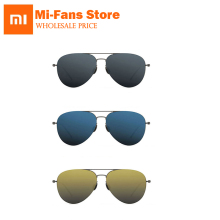 100% Xiaomi mi jia Turok Steinhardt TS Nylon Polarized Stainless Sunglasses Colorful RETRO 100% UV-Proof for Travel Man Woman(China)