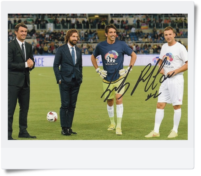 signed Gianluigi Buffon autographed  original photo  7 inches freeshipping  062017   <br>