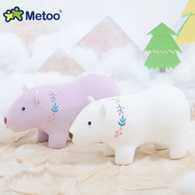 Metoo Brand Polar Bear Plush Dolls Stuffed Toys for Girls Boy Birthday Christmas Gift for Children Dolls