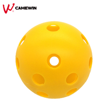 70mm 2 Pcs Environmental Protection Material 26 Hole Ball Pickleball CAMEWIN Brand Professional Wiffle Ball Golf Practice(China)