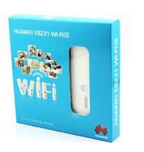Unlock Huawei E8231 21.6Mbps 3G HSPA+ Wireless Modem WiFi Dongle Mobile Hotspot 21Mbps 3G WiFi Modem Router