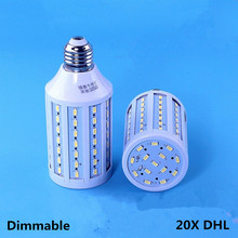 20X LED corn lamp B22 5730 84leds E27 bulb AC 85-265V light Dimmable 110V 220V Living Room Factory Lighting down light E26 luz