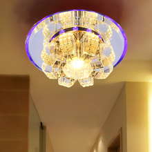 hole lamp ceiling lamp 1Pc Crystal lights porch lamp LED corridor(China)