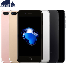 Original Unlocked Apple iPhone 7 Plus 5.5'' 12.0MP LTE Mobile phone 3G RAM 32G/128G/256G ROM Quad-core Fingerprint 4G Cellphone(China)