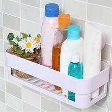 Bathroom Storage Holder Shelf Shower Caddy Tool Organizer Rack Basket Sucker Cup Drop shipping2.09(China)