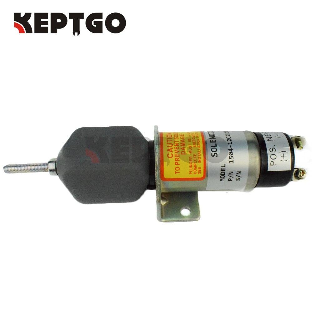 2 terminals Fuel Shutoff Solenoid Valve For Choke Solenoid , 1504-12C2U1B1S1 , 12v<br>