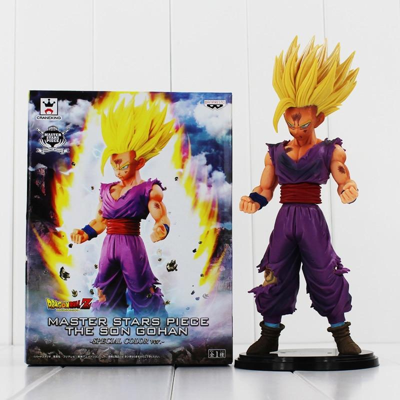 23cm BANPRESTO MSP Dragon Ball Z Son Gohan Figure Super Saiyan Son Gohan Toy Dragon Ball Special Color Ver. Toy Doll Figuras DBZ<br><br>Aliexpress
