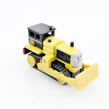 Byron children's Thomas and friends trains railroad track master bulldozer mini builder metal plastic diecast alloy model trains