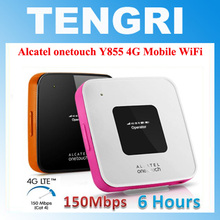 Original Unlocked Alcatel Y855 One touch 150Mbps 4G LTE FDD Wireless Router 3G Mobile Broadband Pocket WiFi Dongle Hotspot