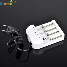Hot-sale EU Plug 110*80*36mm Universal i4 Intelligent Li-ion/NiMH 18650/26650/AA/AAA Battery Charger Charging 4 Output 1 PC