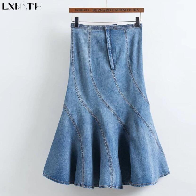 get cheap wholesale denim skirts aliexpress