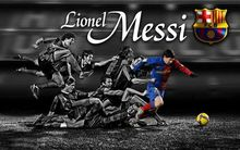 "Lionel Messi - Barcelona Football Soccer Top Player 50*70cm"" Poster"
