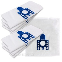 Free shipping 15X vacuum cleaner bags fit for Miele GN S5210 S5211 TT5000 S2121, S8310 Cat and Dog S8390 S8590 Hoover dust bags