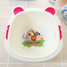 Buy Household Washbasin Baby Bath Basin Cartoon Cute Babies Wash Basin Baby Bath Shower Tub Thickened Baby Wash Hair Wash-basin for $10.26 in AliExpress store