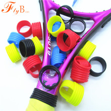 100pcs/lot Silicone Tennis Racket Grips Ring/No Logo/Handle's Silicone Hushing/Tennis Racquet/Wholesale Prices L354-100(China)