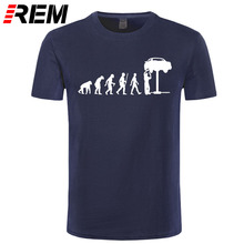 REM Summer Style Evolution Auto Mechaniker Mechanic Car T-Shirt Tops Funny Gift T Shirt For Men Tee(China)