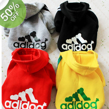 2017 New Dog Clothes For Winter Warm Clothes Small Medium Big Dog Pet Coat XS To XXL Spring Summer Sport Cotton ChiHuaHua China