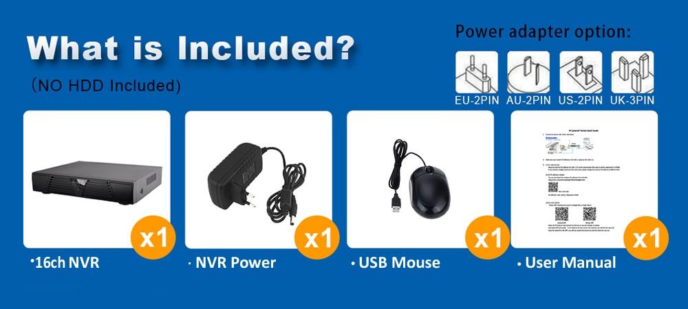 16ch NVR N1016P 7-1