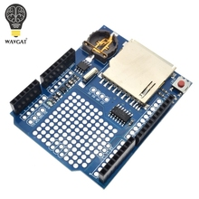Buy WAVGAT Data Logger Module Logging Recorder Shield V1.0 Arduino UNO SD Card for $2.42 in AliExpress store