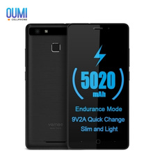 Vernee Thor E 4G Smart Phone MTK6753 Octa Core 5.0 inch Android 7.0 3GB RAM 16GB ROM 5020mAh Full Metal Body Cellphone(China)