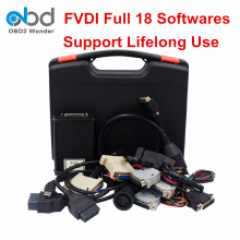 2017 New Arrival FVDI Full Abrites Commander Adapter FVDI 18 Softwares OBD2 Diagnostic Scanner Multi-Language Lifelong Use