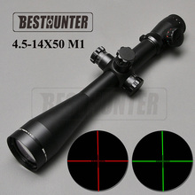 Leupold 4.5-14x50 MARK4 M1 Red Green Dot Sight Scope Illuminated Optics Riflescope Hunting Scopes Sniper Air Weapons