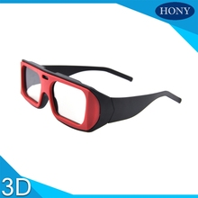 Free Shipping,20pcs Wholesale Cheap Plastic circular polarized 3D glasses for TV and cinemas,Real D Passive Circular Polarized