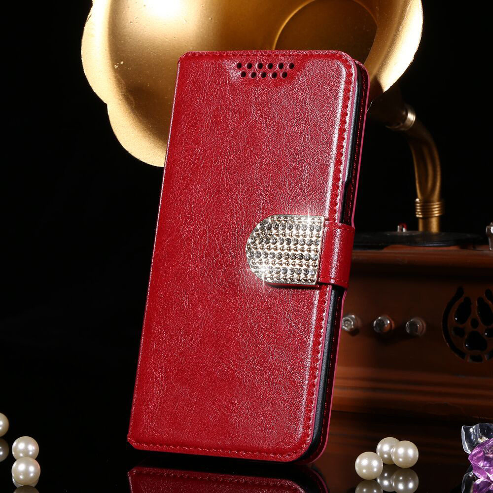Hot Sale! High android phone leather case cover BQ BQ-5054 Crystal case 5 colors choice stock