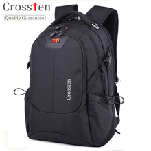 "Crossten Swiss Army Multifunctional 16"" Waterproof Versatile Laptop Backpack schoolbag Travel bag Rucksack Notebook Computer bag(China)"