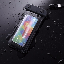 Fashion Waterproof Case for Samsung Galaxy S3 DUOS S4 S5 Neo S6 S7 Edge J1 J2 J3 J5 J7 A3 A5 2016 Note 2/3/4/5 Sports Bag Pouch