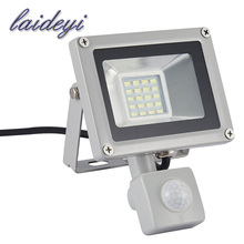 Buy 1Xpcs led security flood light 20W 220VAC Sensor Led Flood light SMD IP65 waterproof street square highway wall billboard for $15.09 in AliExpress store