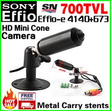 "Low Price Sale! Meta Bullet 1/3""Sony Sensor CCD Effio-e 4140+673 HD CCTV Camera 3.7mm Lens Cone Hidden micro security vidicon"