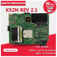 Motherboard For Asus K52N notebook Mainboard free shipping(China)