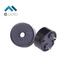 10pcs Piezoelectric Piezo Passive Electronic Buzzer Speaker 14*7 Loudspeaker 1407 5V 14x7mm 4KHz 2mA Black(China)