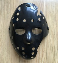 New Half Face Black Cosplay Delicated Jason Voorhees Freddy Hockey Festival Party Halloween Masquerade Mask