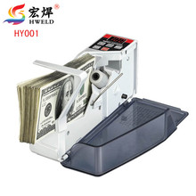 V40 Money Counting Machine Mini Portable Handy Money Counter for most Currency Note Bill Cash Counting Machine Free(China)