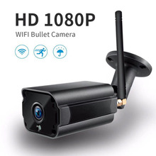 Buy Outdoor Waterproof Bullet IP Camera Wifi Wireless Surveillance Camera Support Built-in 64G Memory Card CCTV Camera Night Vision for $34.48 in AliExpress store