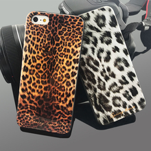 For Apple iPhone 5S Case Spring Lemon Leopard Snakeskin Crocodile Soft Case For iPHONE 5 SE