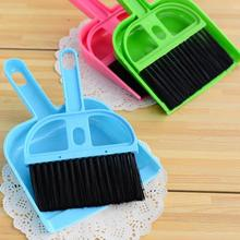 Portable Mini Computer Desk Keyboard Desk Table Brush Dustpan Broom Notebook Car Cleaner(China)