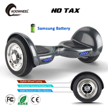 2017 Koowheel Hoverboard 10 inch Inflatable Tire Electric Scooter 0ff-road 2 Wheel Self Smart Balance Kick Scooters for Adult(China)