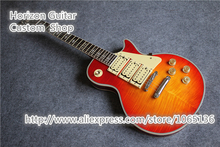 Good Cheap Price Ace Frehley Signature Budokan Electric Guitar Flame Cherry Sunburst CS China Guitars Factory(China)