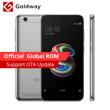 "Global ROM Original Xiaomi Redmi 5A 5 A 2GB RAM 16GB ROM Mobile Phone Snapdragon 425 Quad Core 5.0"" 13.0MP Camera 3000mAh(Hong Kong)"