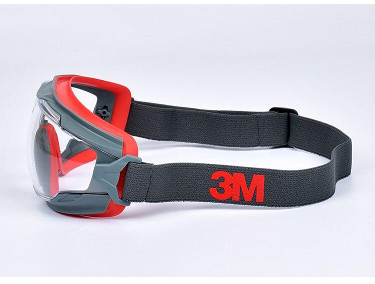 3M GA501 Safety Goggles Windproof Anti-Sand Painted Anti-fog Anti-shock Dustproof Professional Working Eyewear Protective Goggles (10)